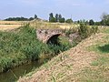 Brick bridge over the Hammond Beck, Gosberton, Lincs - geograph.org.uk - 216140.jpg
