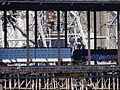 Bridge Girders with Passing Train - Downtown Portland - Oregon - USA.jpg