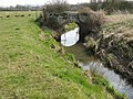 Bridge carrying footpath over stream - geograph.org.uk - 1217832.jpg