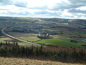 Perthshire - Bridge of Earn from Moncreiffe Hill