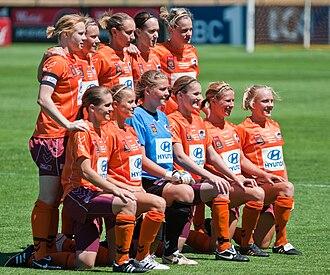 Brisbane Roar FC (W-League) - Brisbane Roar Team (2009)