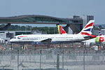 British Airways Airbus A320 G-EUUO (26304673656).jpg