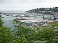 Brixham, view over harbour from Overgang Road - geograph.org.uk - 1464858.jpg