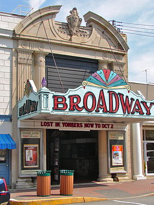 Pitman, New Jersey - The Broadway Theater in Pitman