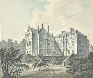 Brymbo Hall - Brombo House, 1794
