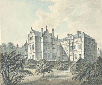 Brymbo Hall - Brombo House, 1794