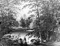 Brooklyn Museum - On Claverack Creek near Hudson, New York - Thomas Addison Richards - overall.jpg