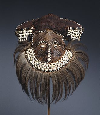 Traditional African masks - Mwaash aMbooy Mask Brooklyn Museum