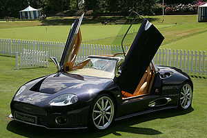 Spyker Cars - A Spyker C8 at Salon Prive, London, England.