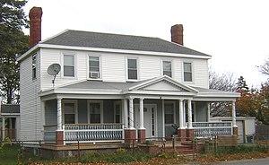 Brown–Hodgkinson House - Image: Brown Hodgkinson House Quincy MA 01