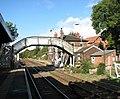 Brundall railway station - footbridge over railway line - geograph.org.uk - 1531824.jpg
