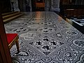 Bruxelles Co-Cathédrale St. Michel & Ste. Gudule Innen Chor Fußboden.jpg