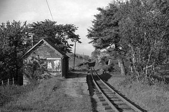 Brynglas railway station - As it was in 1962