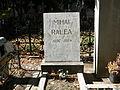Bucuresti, Romania, Cimitirul Bellu Ortodox (Mormantul lui Mihai Ralea).JPG