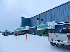 Buffalo Airways - Yellowknife base of Buffalo Air