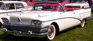 1958 Buick Limited Series 700 Model 756 2-door...