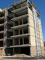 Building under construction - Molla Sadra blv - Nishapur 2.JPG