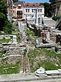 Buildings with Roman Ruins - Plovdiv - Bulgaria (43346424771).jpg