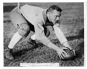 1918 College Football All-America Team - Bum Day.