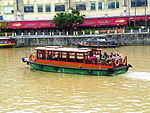 Bumboats in Clarke Quay 20130210a.jpg