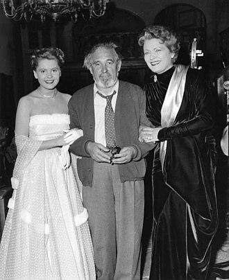 Karl Hartl - Karl Hartl with Johanna Matz and  Olga Chekhova, Göttingen 1953