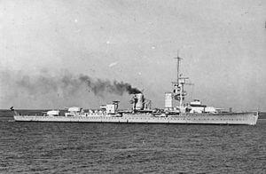 German cruiser Karlsruhe