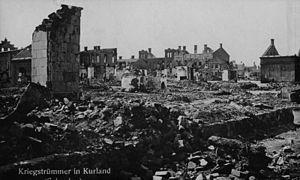 Bundesarchiv Bild 146-2007-0178, Baltikum, Ruinen in Schaulen