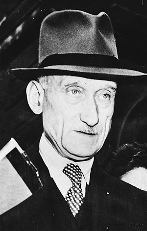 President of the European Parliament - Robert Schuman (1958–1960), first President of the Parliamentary Assembly.
