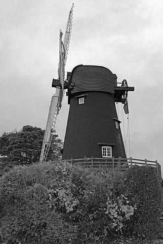 Bursledon - Image: Burlesdon 2 windmill