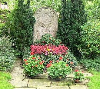 Wilhelm Busch - Busch's grave in Mechtshausen