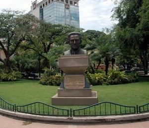 Vicente Amador Flor - Image: Bust statue of Vicente Amador Flor