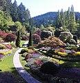Butchart garden victoria canada - panoramio.jpg
