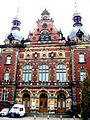 Bydgoszcz, gmach Dyrekcji Kolei, 1886-1889 - wejście główne.JPG