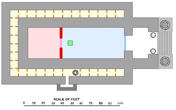 Resultado de imagen para plano del templo de jerusalen