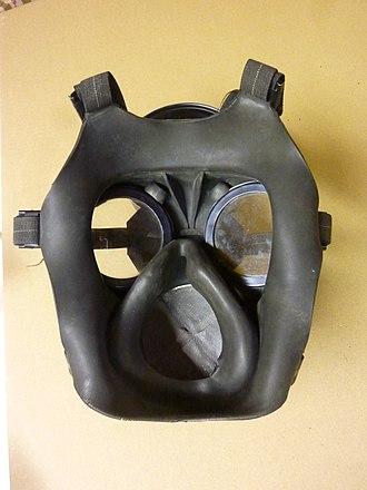 Orinasal mask - Orinasal mask inside a gas mask