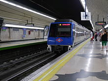 Madrid Metro - Wikipedia