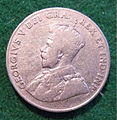 CANADA GEORGE V, 5 CENT NICKEL 1922, FIRST ISSUE FULLSIZED a - Flickr - woody1778a.jpg