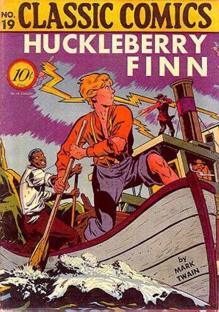 CC No 19 Huckleberry Finn