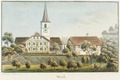 CH-NB - Worb, Pfarrhaus und Kirche - Collection Gugelmann - GS-GUGE-WEIBEL-D-156.tif