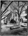 CHURCH OF THE RESURRECTION, 825 GREENE STREET, FROM SOUTHWEST 56-31 - Greene Street Historic District, Greene Street, Gordon Highway to Augusta Canal Bridge, Augusta, Richmond HABS GA,123-AUG,56-40.tif