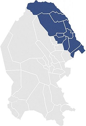 First Federal Electoral District of Coahuila - District Coah-I