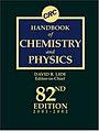 CRC Handbook of Chemistry and Physics 82nd.jpg