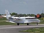 CS-DQB Cessna Citation 560XL XLS Netjets Europe Ltd (26642736094).jpg