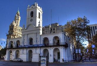 Buenos Aires Cabildo - Image: Cabildo close TM