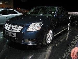 Cadillac BLS - Image: Cadillac BLS 2006 01