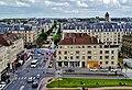 Caen Château de Caen Blick auf die Rue Montoir Poissonnerie 4.jpg