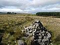 Cairn marking St Cuthbert's Way footpath - geograph.org.uk - 1508899.jpg