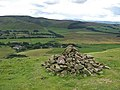 Cairn on Dunsyre Hill - geograph.org.uk - 511426.jpg