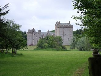 Clan Fraser - Cairnbulg Castle, formerly Philorth Castle.