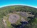 Cairns at Vitlycke, Tanum World heritage.jpg